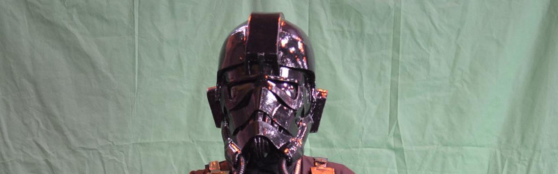 TIE Pilot Helmet and Flight Suit