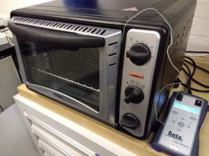 Our reflow oven.